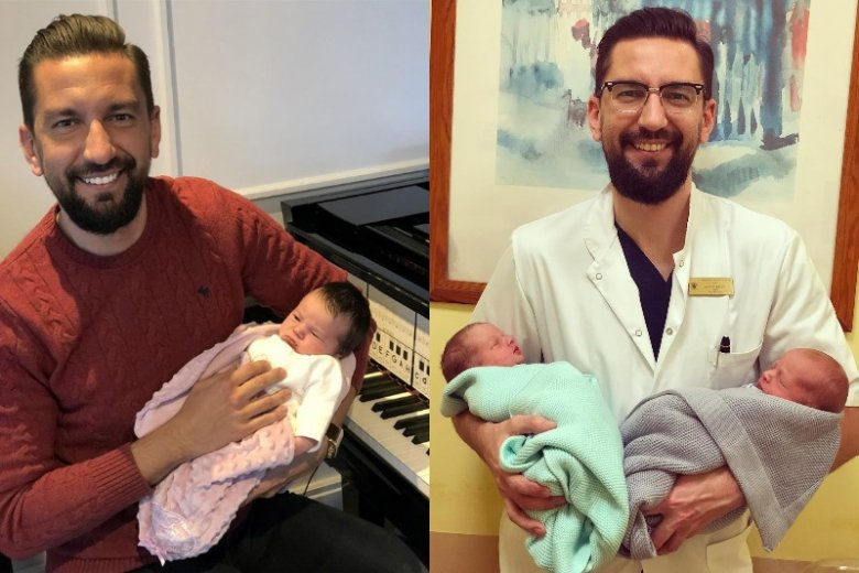 Doktor Falęcki zdobył serca pacjentek zarówno w Klinice, jak i na Instagramie