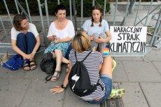 Greta Thunberg poparła protest Ingi Zasowskiej.