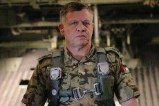 Król Abdullah II w wojskowym mundurze
