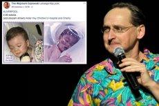 Strona Wojciecha Cejrowskiego na Facebooku stała się dla wielu jedynym źródłem informacji dotyczącym losów Alfiego Evansa