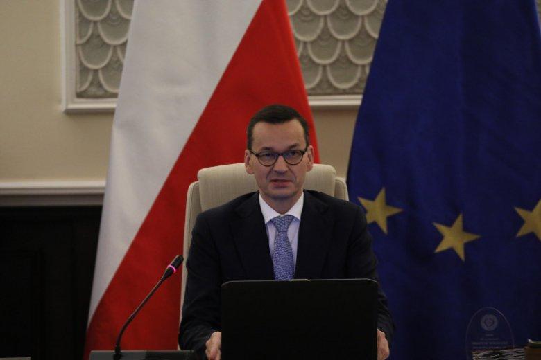 Premier Mateusz Morawiecki narzekał na Brukselę w amerykańskiej telewizji.