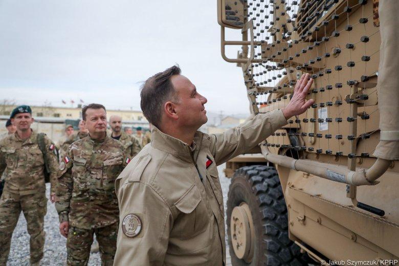 Prezydent Andrzej Duda zapowiedział zwiększenie kontyngentu polskich wojsk w Afganistanie.