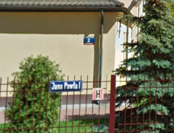 W Legionowie jest ulica Jana Pawła I.