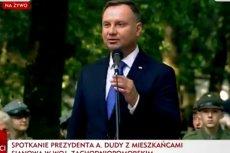 Andrzej Duda postawił w Sianowie odważną tezę.