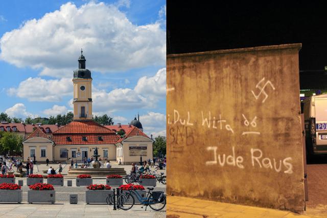 Białystok, miasto, które ma dwa oblicza.