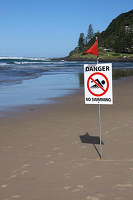 Nieprzestrzegane zakazów kąpieli, bardzo często kończy się źle