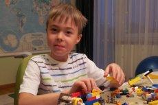 Pawełek, chory na dystrofię mięśniową Duchenne'a