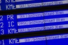 W niedzielę pojawiły się ogromne opóźnienia pociągów na trasie Warszawa-Kraków.