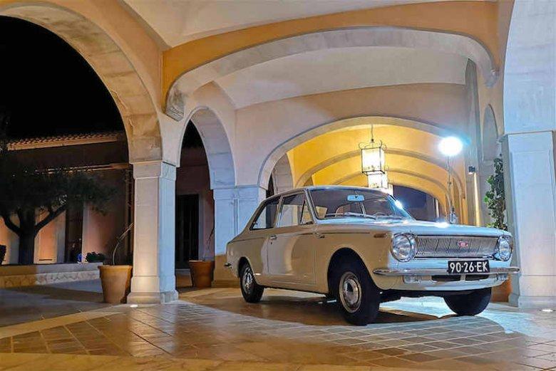 Piękność z roku 1966, czyli piewszy model Corolli