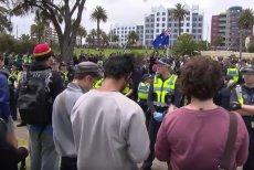 Nacjonaliści w Melbourne protestowali w styczniu przeciwko imigrantom