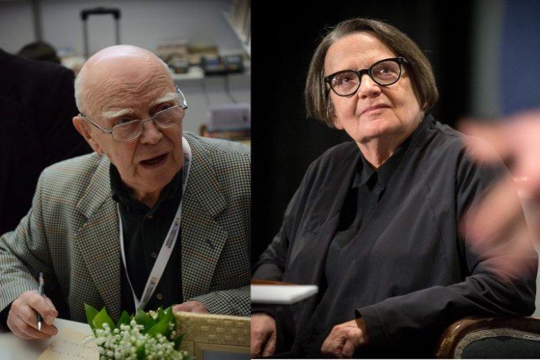 Czy sztuka może być albo lewicowa albo prawicowa? Jarosław Marek Rymkiewicz i Agnieszka Holland to przedstawiciele dwóch przeciwległych biegunów.
