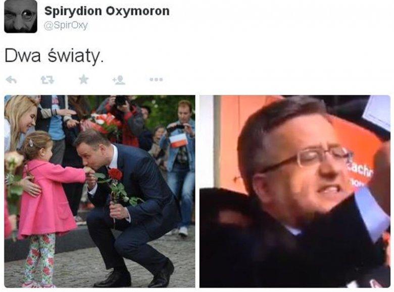 """""""Panie Prezydencie, Polska miała wstać z kolan"""". Andrzej ..."""