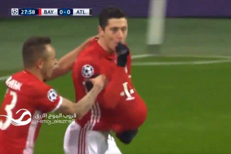 Robert Lewandowski zostanie ojcem! O ciąży poinformował w tradycyjny piłkarski sposób po zdobyciu gola w Lidze Mistrzów.