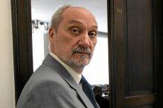 """Jak twierdzi """"Do Rzeczy"""", CBA we wtorek wkroczyło do MON kierowanego przez wiceprezesa PiS Antoniego Macierewicza."""