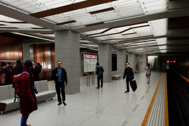 Jak będą wyglądać nowe stacje metra?