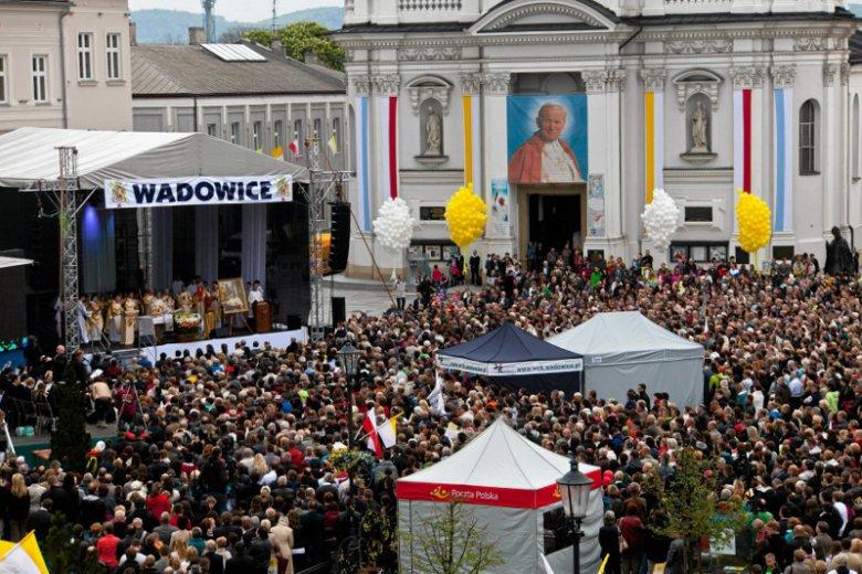 Wadowice, wiosna 2014 jeszcze za poprzedniej ekipy