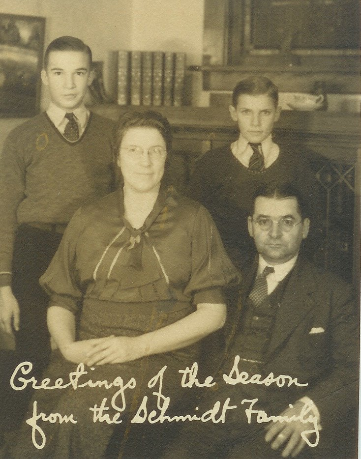 Karl Patterson Schmidt z rodziną.