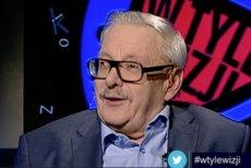 Marcin Wolski w programie wTyleWizji w TVP Info.