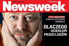 """W """"Newsweeku"""" Olaf Lubaszenko opowiada o walce z depresją i z nadwagą."""