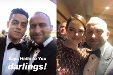 Borys Szyc podczas gali rozdania Oscarów wykonał wiele zdjęć z innymi aktorami, co rozbawiło internautów.