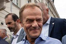 Donald Tusk zażartował z prezydenta USA na szczycie NATO.