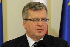 Bronisław Komorowski broni sędziego Tulei.