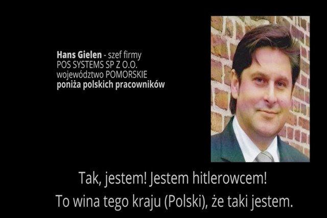 Jeden wkurzony niemiecki prezes w minutę i 12 sekund zrujnował opinię reszcie niemieckich przedsiębiorców w Polsce.