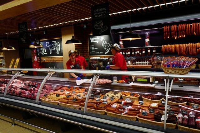Powstały już dwa takie eleganckie nowe sklepy Carrrefour.