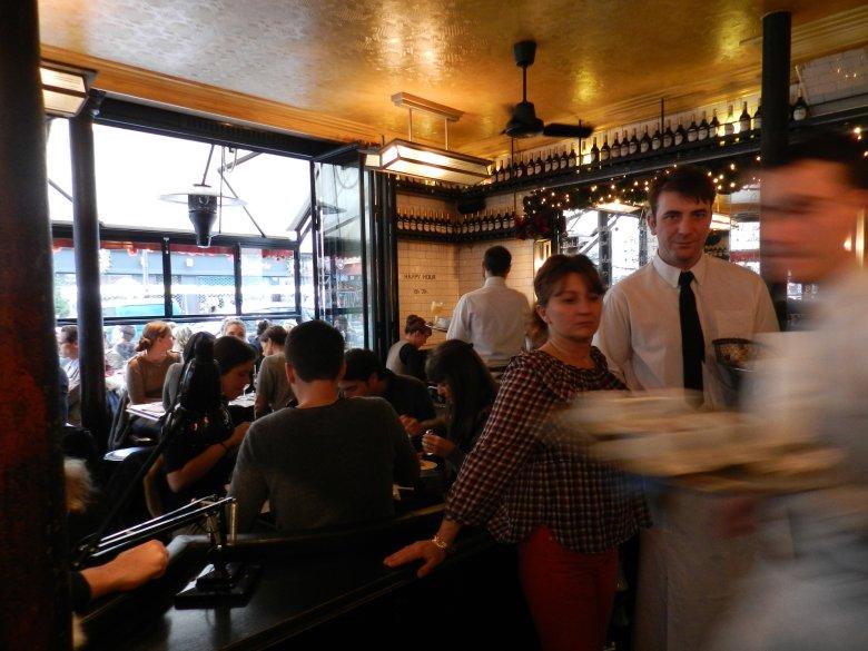 Cafe Charlot w dzielnicy Marais