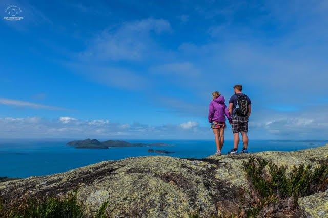 """Julia: """"Sama poznałam podczas samotnej podróży dookoła świata. Dziś mieszkamy w Brisbane. Na zdjęciu: wyspy Whitsundays - jedno z najbardziej rajskich miejsc w Australii"""""""