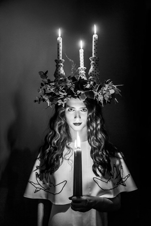 fot Szymon Brodziak modelka Antonina Wolff kreacja Vasina Studio