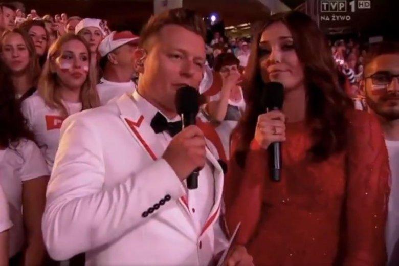 """Żart"" na opolskim festiwalu podbija internet."