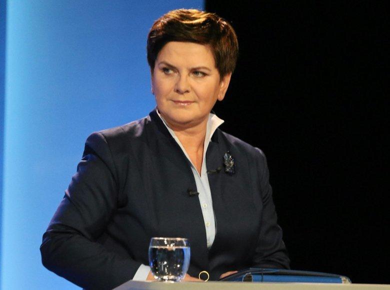 Beata Szydło, była premier rządu PiS, dostanie mandat w Parlamencie Europejskim. Zdobyła niemal pół miliona głosów.