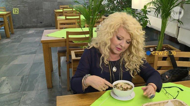 """Magda Gessler nie chciała jeść dań w restauracji """"Kanion""""."""