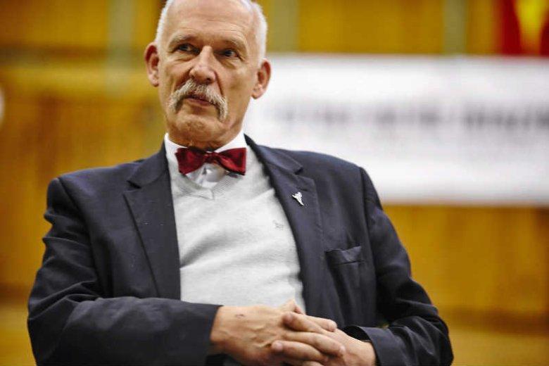 Janusz Korwin-Mikke nie jest już prezesem Kongresu Nowej Prawicy.