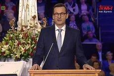 Premier Mateusz Morawiecki pomodlił się za Polaków