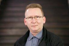"""Piotr Walentynowicz, radny PiS, jest wnukiem działaczki """"Solidarności"""" Anny Walentynowicz"""