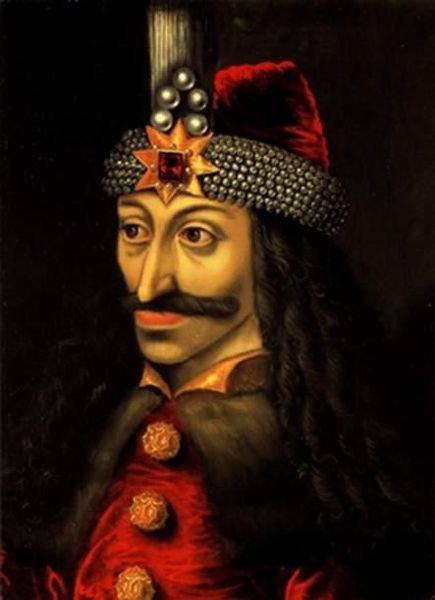 Vlad (Tepes) Palownik w portrecie autorstwa nieznanego malarza. Vlad Palownik - syn hospodara wołoskiego Vlada II Drakuli znany był  z wyjątkowego okrucieństwa. Inspirował do opowieści o okrucieństwie tak szczególnym, że moża je łatwo przełożyć na wysysan