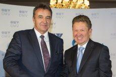 Umowę podpisali prezes OMV Gerhard Roiss i prezes Gazpromu Aleksiej Miller