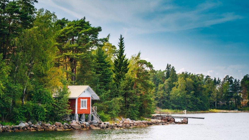 Finowie mówią, że z sauny może korzystać każdy, kto potrafi do niej dojść