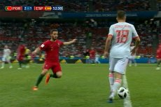 Portugalia remisuje z Hiszpanią 2:3