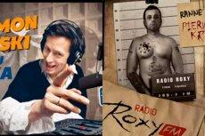 Fragmenty reklam porannych audycji w radiu Roxy i Eska