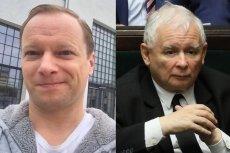 Maciej Stuhr odpowiedział na krytykę Jarosława Kaczyńskiego.