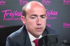 """Borys Budka przerwał wywiad w """"Salonie politycznym Trójki"""" i wyszedł ze studia radiowego."""