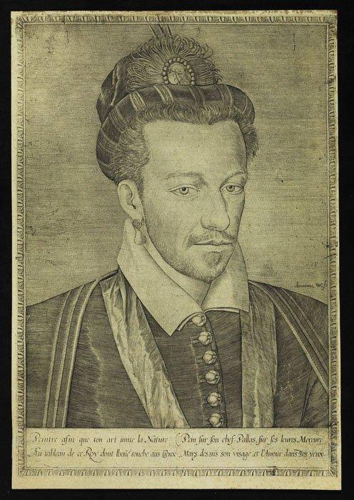 Henryk Walezy z kolczykiem w uchu. Taki obraz w XVI-wiecznej Polsce był zupełnym novum.