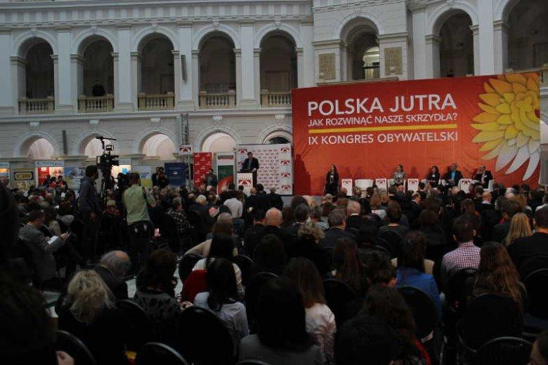 Na IX Kongresie Obywatelskim w Warszawie zastanawiano się, jak wykorzystać potencjał Polaków.