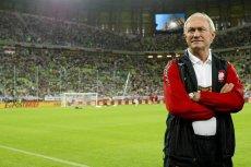 Trener Franciszek Smuda uwielbia dresy