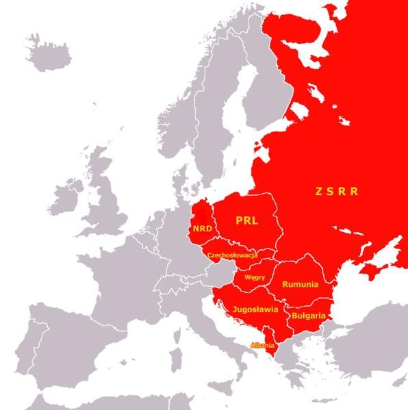 Wschod I Zachod Europy Po Upadku Komunizmu Natemat Pl