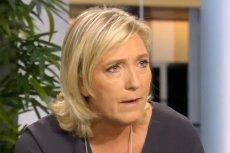 """Z informacji """"Le Soir"""" wynika, że Marine Le Pen przegrywa z Emmanuelem Macronem w wyborach prezydenckich we Francji."""