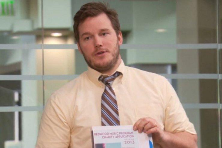 Chris Pratt przed metamorfozą do filmu Marvela.